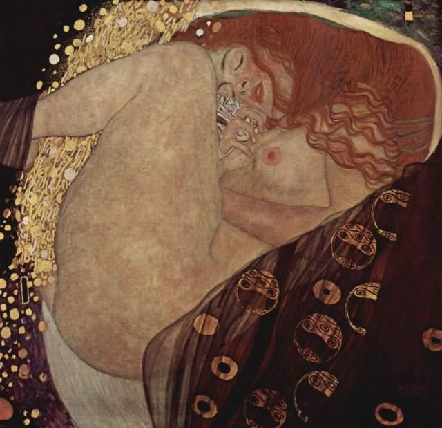 Gustav Klimt Danaë (1907)